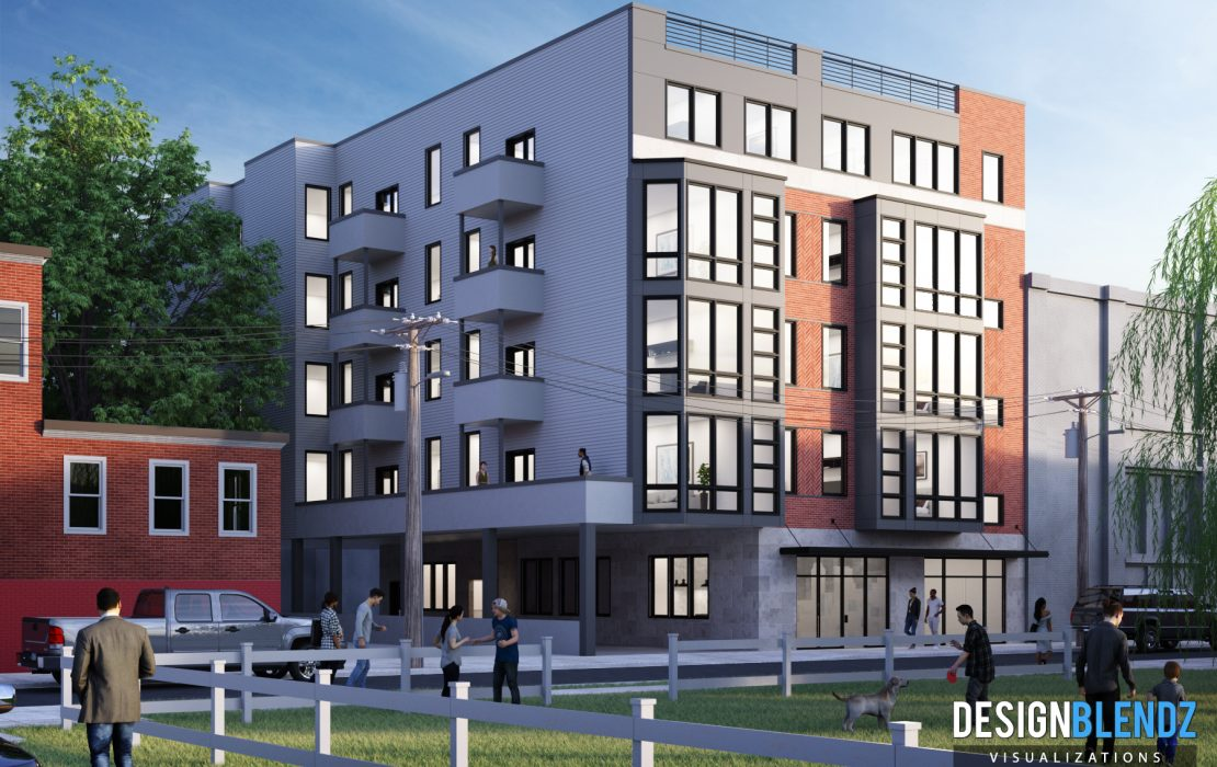 1539 N 26th St - Exterior Renderings